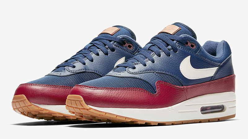 Nike Air Max 1 Blue Red - Where To Buy