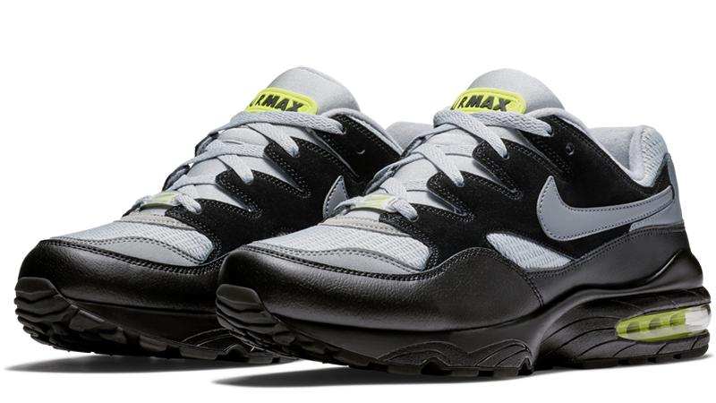 Nike Air Max 94 Black Grey Volt | Where