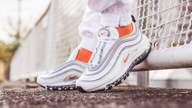 Nike Air Max 97 WhiteCone Metallic Silver BQ4567 100