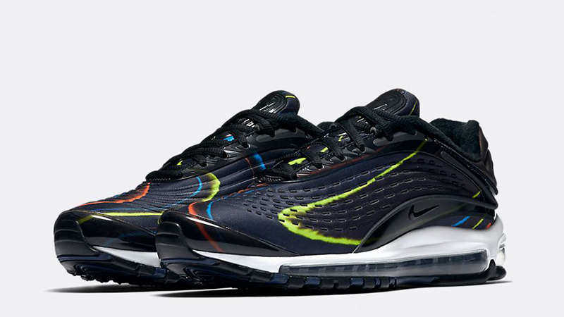 salida definido Admisión  Nike Air Max Deluxe Black Multi - Where To Buy - AJ7831-001 | The Sole  Supplier