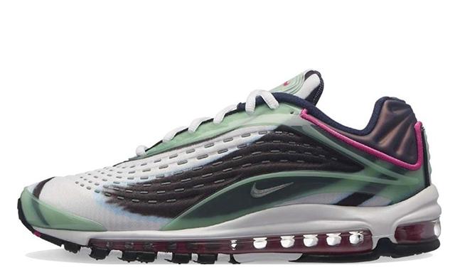 Nike Air Max Deluxe Enamel Green | AJ7831-301