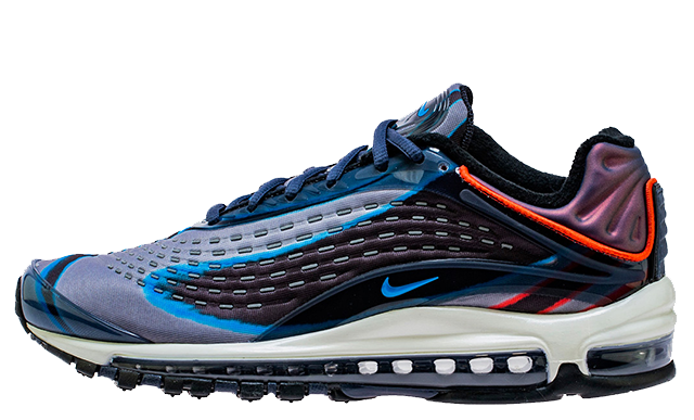 Nike Air Max Deluxe Navy Red AJ7831-402