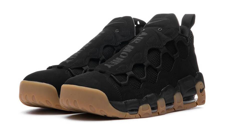 Nike Air More Money Black Gum | Where