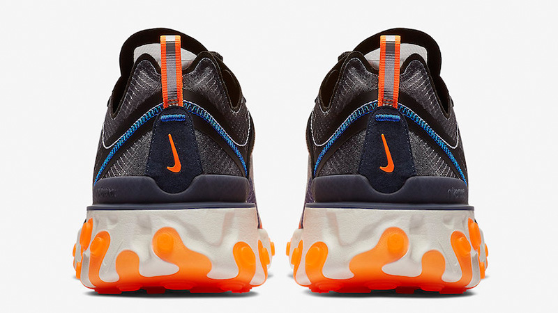 Nike React Element 87 Blue Orange AQ1090-004 01