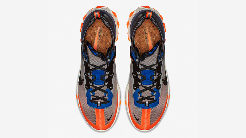 Nike React Element 87 Blue Orange AQ1090-004 02