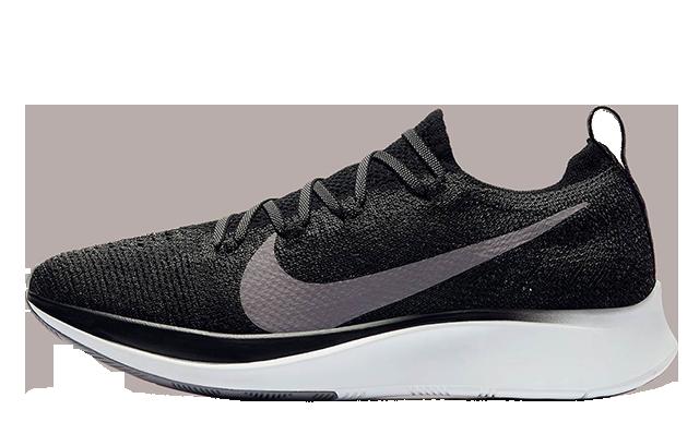 Nike Zoom Fly Flyknit Black Gunsmoke AR4562-081