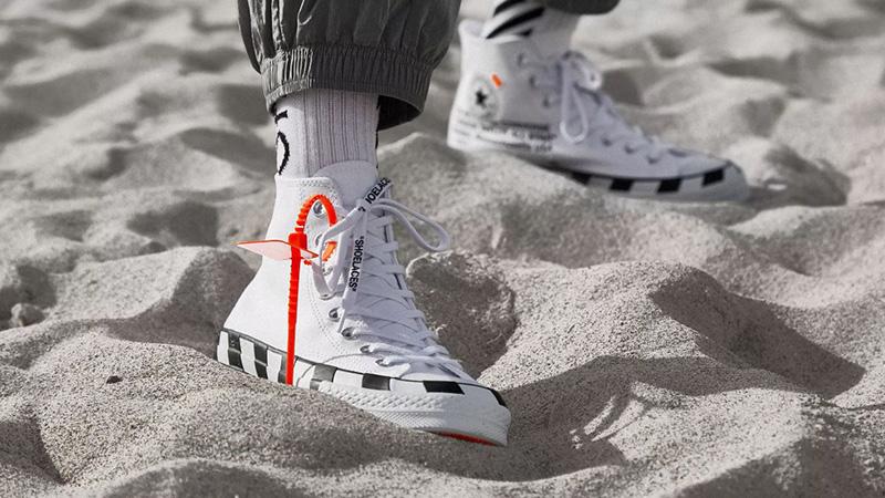 Off-White x Converse Chuck 70 Stripe