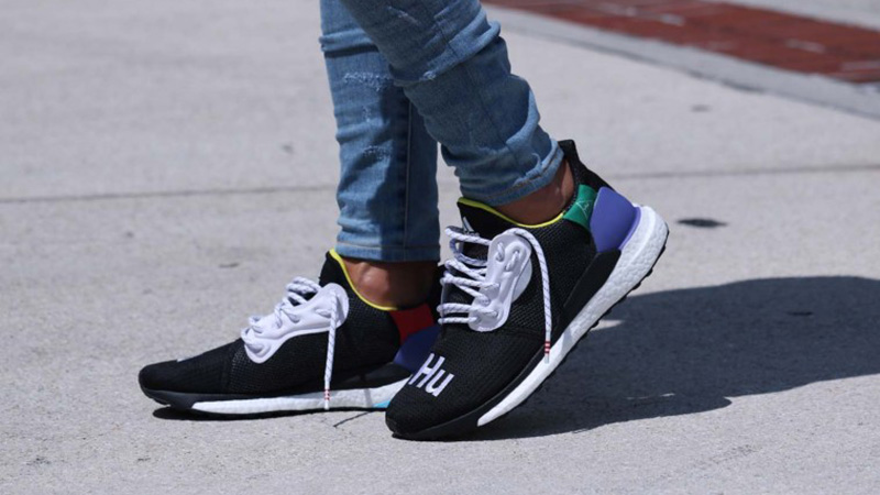 cheap for sale exclusive range well known Pharrell Williams x adidas Solar Hu Glide Black - Where To Buy ...