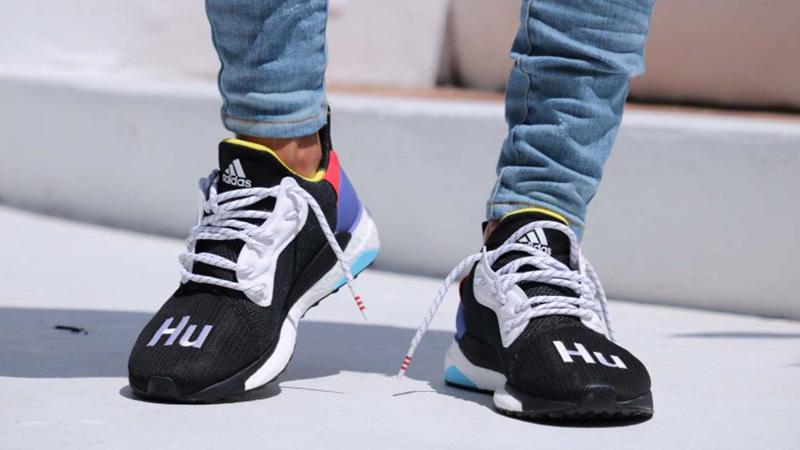 Pharrell Williams x adidas Solar Hu Glide ST Shoes