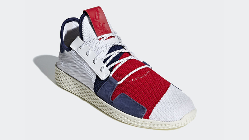 adidas Men's BBC Tennis HU V2 NMD Sneakers Off white diamond
