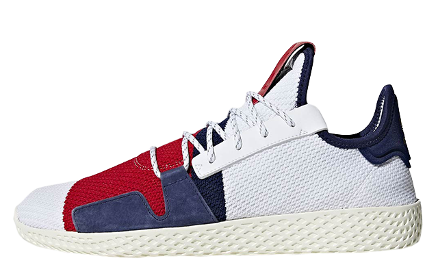 Pharrell Williams x adidas Tennis Hu BBC Scarlet Multi BB9459