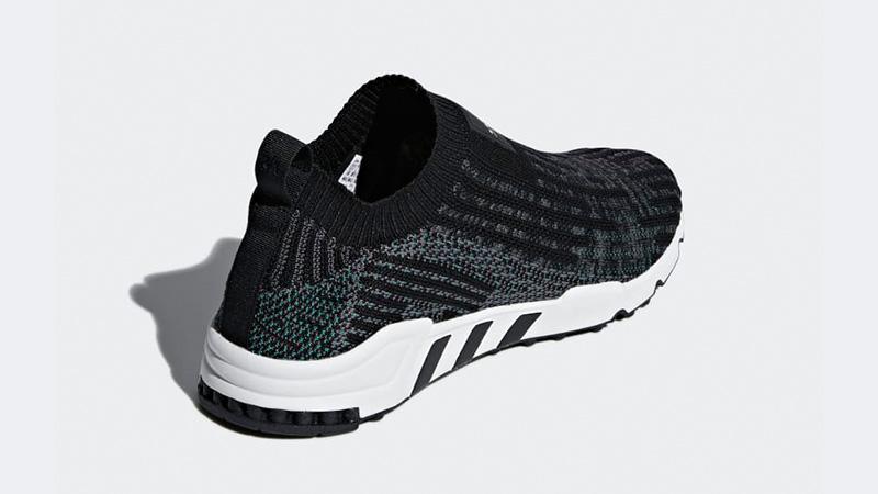 eqt support sock primeknit shoes black