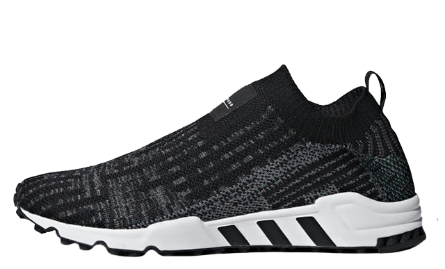 adidas EQT Support Sock Primeknit Black White B37526