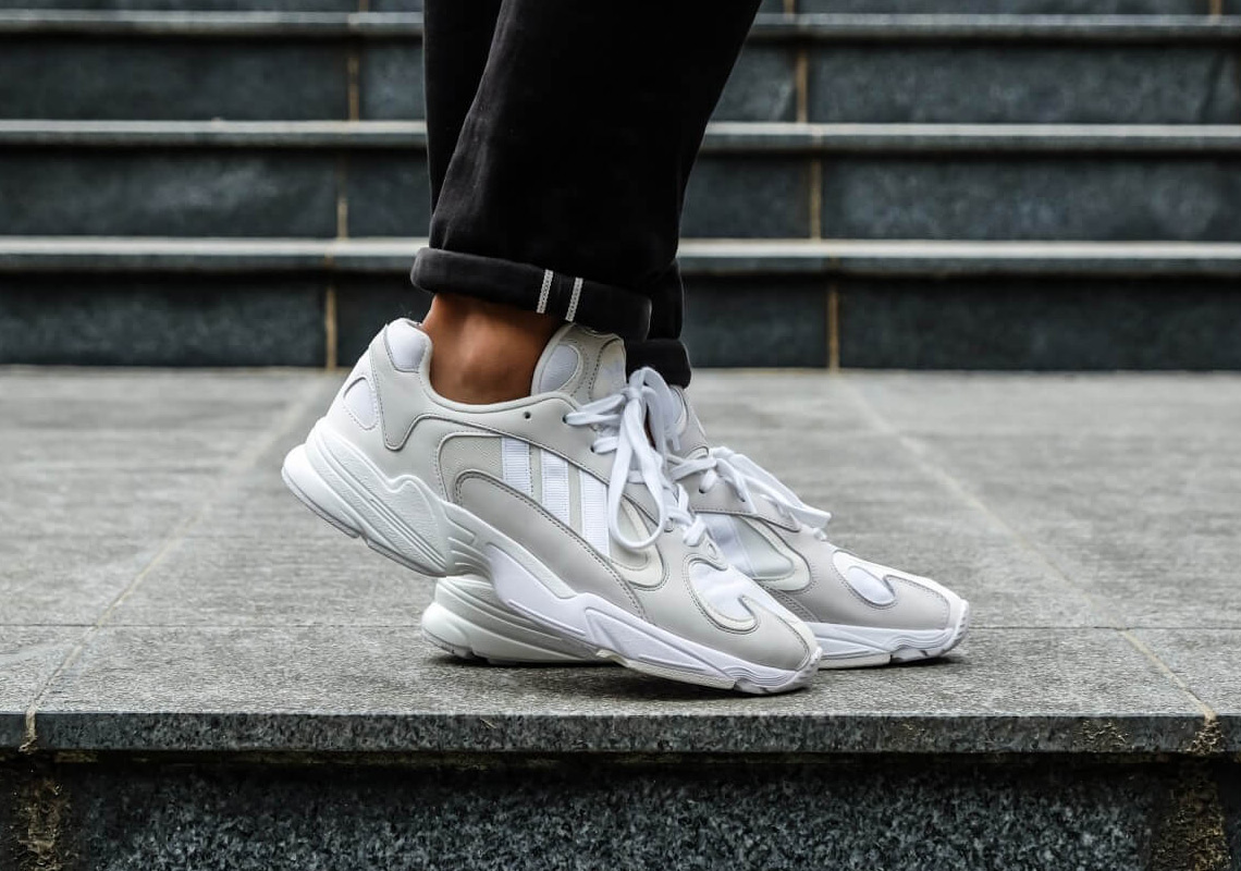 adidas Originals Yung 1 WhiteGrey On Feet Look | HYPEBEAST