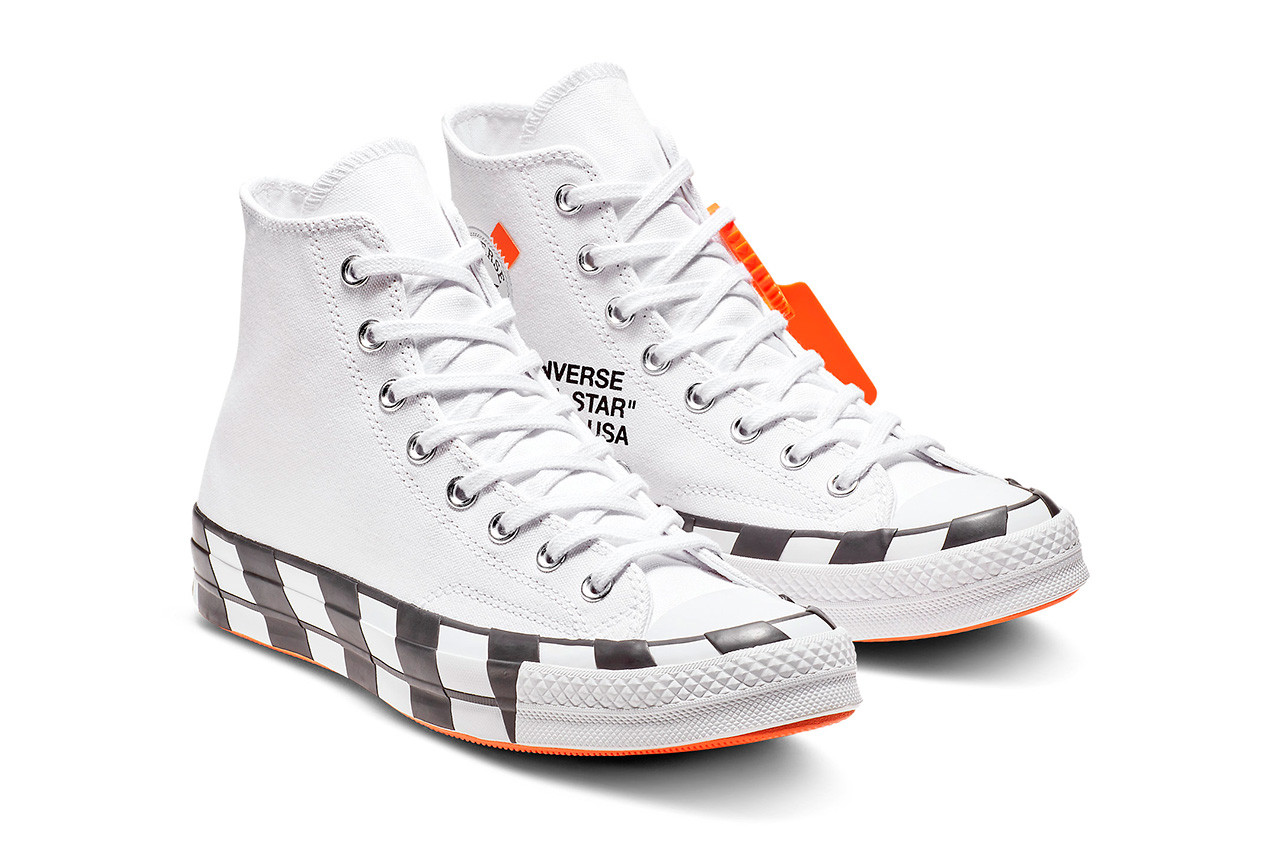 Full List Of Raffles For The Off White x Converse Chuck
