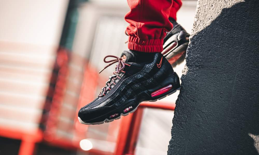 Nike Air Max 95 Black Infrared - Where To Buy - AV7014-001 | The
