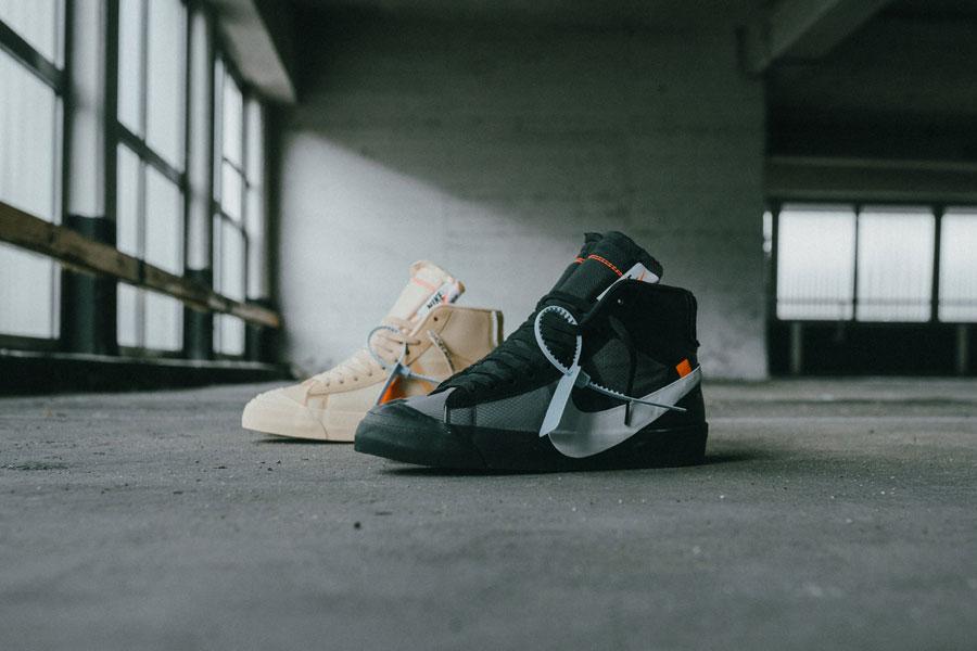 Off-White x Nike Blazer 'Spooky Pack