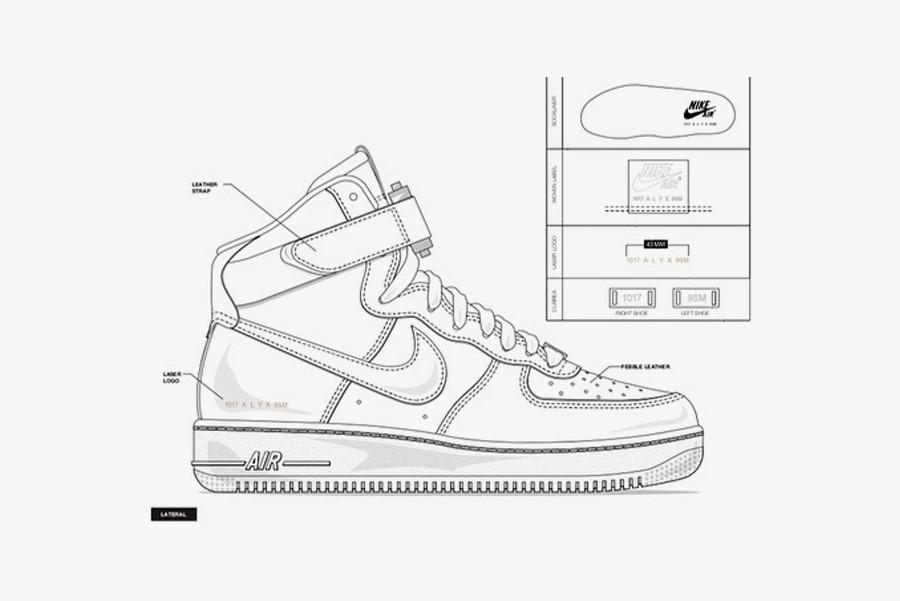 1017 ALYX 9SM x Nike SF AF1 Mid