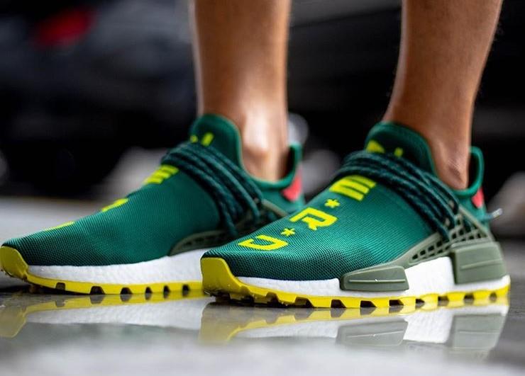 On Foot Look At The BBC x N.E.R.D x adidas Originals NMD Hu