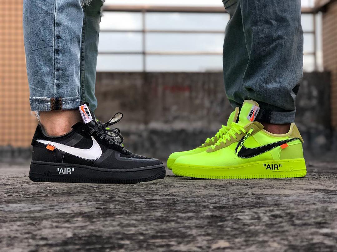 Take An On Foot Look At The Upcoming Off White X Nike Air Force 1