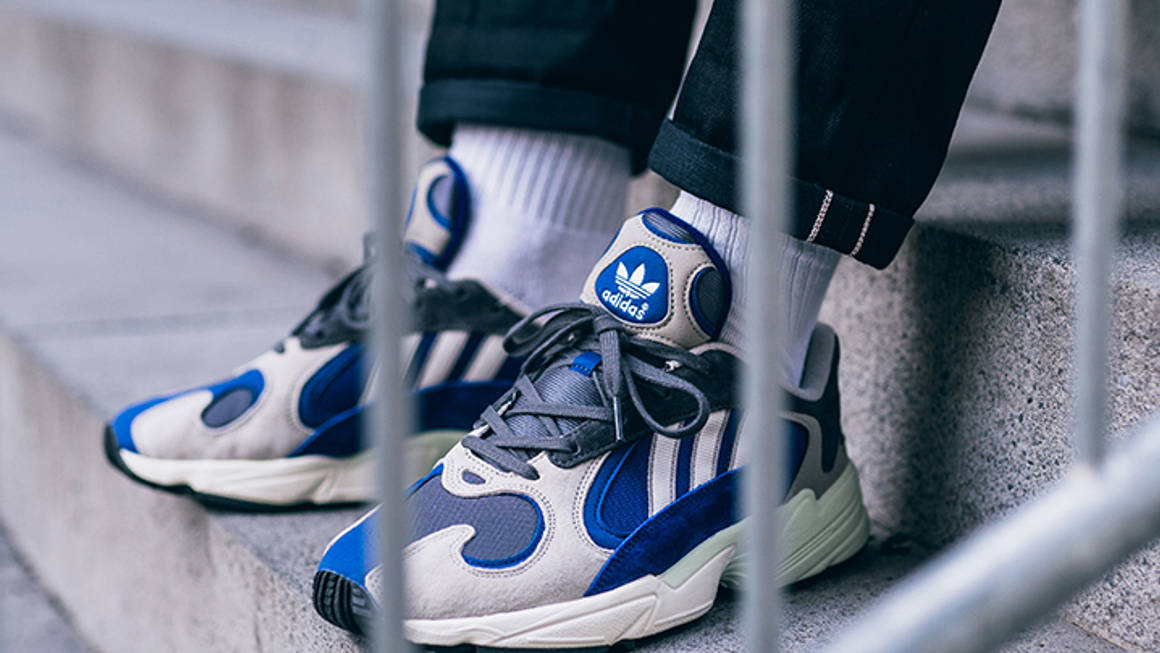 Al borde Malentendido Labe  An On Foot Look At The adidas Originals Yung-1 'Alpine'   The Sole Supplier
