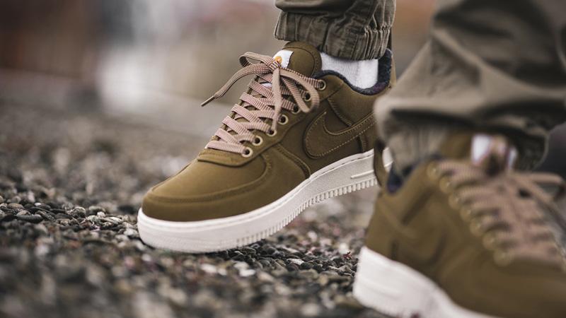 Carhartt x Nike Air Force 1 Ale Brown