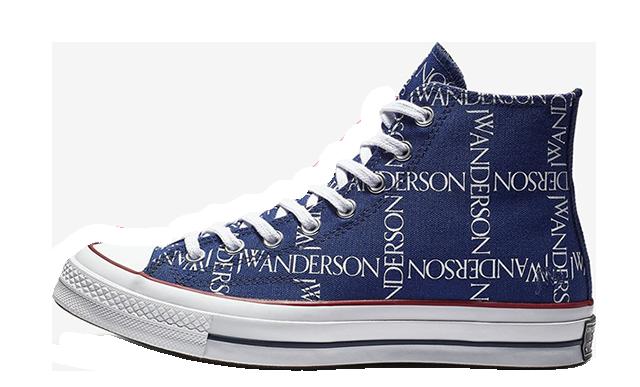 Converse X JW Anderson Chuck 70 Hi Print Blue 162291C