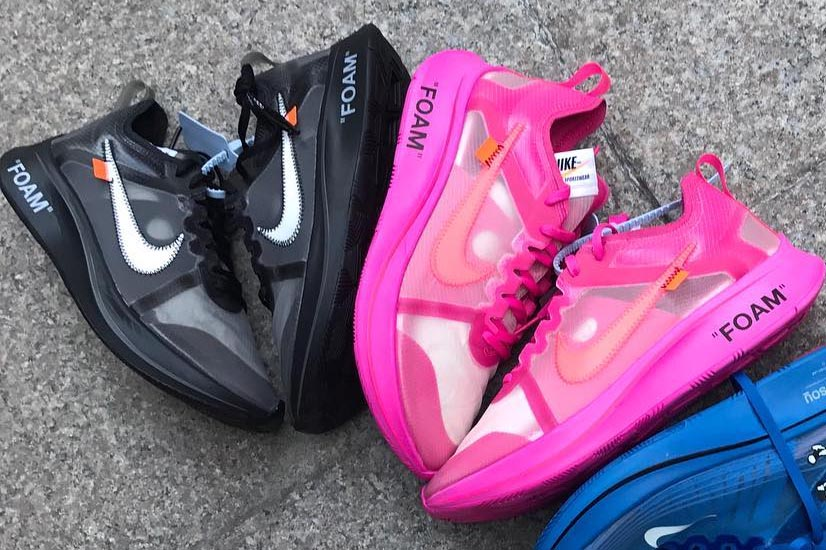 x Nike Zoom Fly 'Black' And 'Tulip Pink