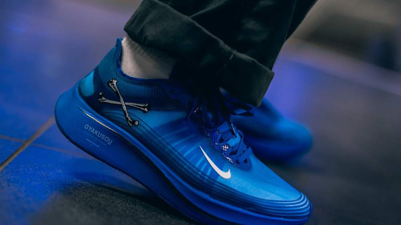 bronce probabilidad ley  GYAKUSOU x Nike Zoom Fly SP Blue   Where To Buy   AR4349-400   The Sole  Supplier