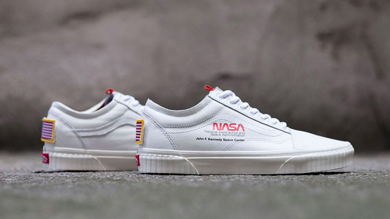vans UA OLD SKOOL SPACE VOYAGER (Space Voyager) true white