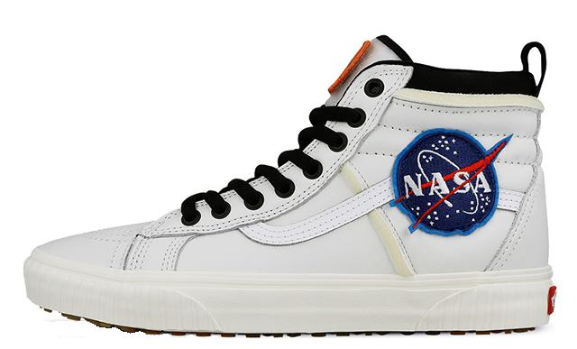 NASA x Vans Sk8 Hi 46 MTE DX Space Voyager White