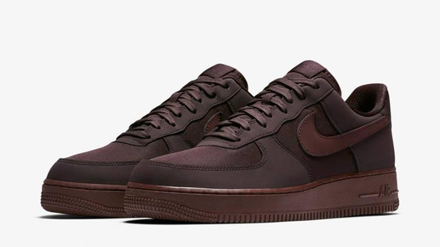 Nike Air Force 1 07 Burgundy   Where To