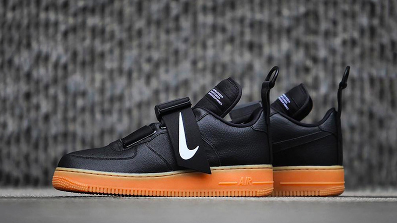 Nike Air Force 1 Utility Black Gum