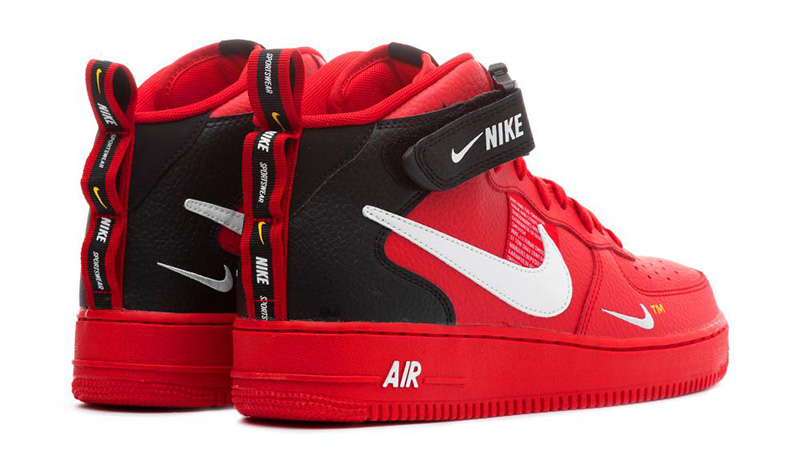 Nike Air Force 1 Mid Utility Red