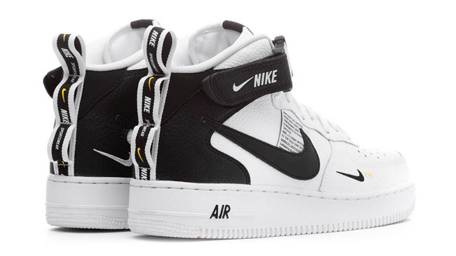 Nike Air Force 1 Mid Utility White   Where To Buy   804609-103 ...