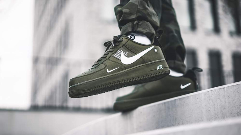 Falsificación en cualquier sitio Confusión  Nike Air Force 1 Utility Olive | Where To Buy | AJ7747-300 | The Sole  Supplier