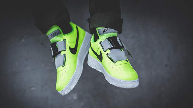 Nike Air Force 1 Utility Volt Grey