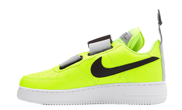 Nike Air Force 1 Utility Volt Grey