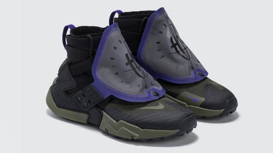 Nike Air Huarache Gripp QS Black Olive