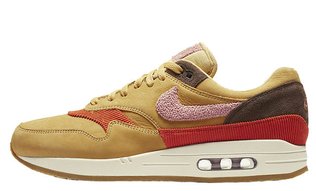 Nike Air Max 1 Crepe Wheat Gold Rust Pink Where To Buy