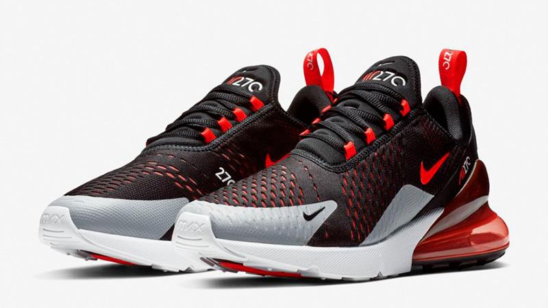 Nike Air Max 270 W Black, Crimson