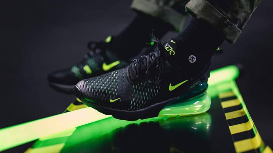 sílaba Descarga Contratista  Nike Air Max 270 Black Volt Oil Grey | Where To Buy | AH8050-017 | The Sole  Supplier