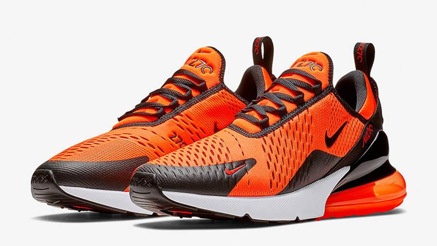 Nike Air Max 270 Orange Black | Where