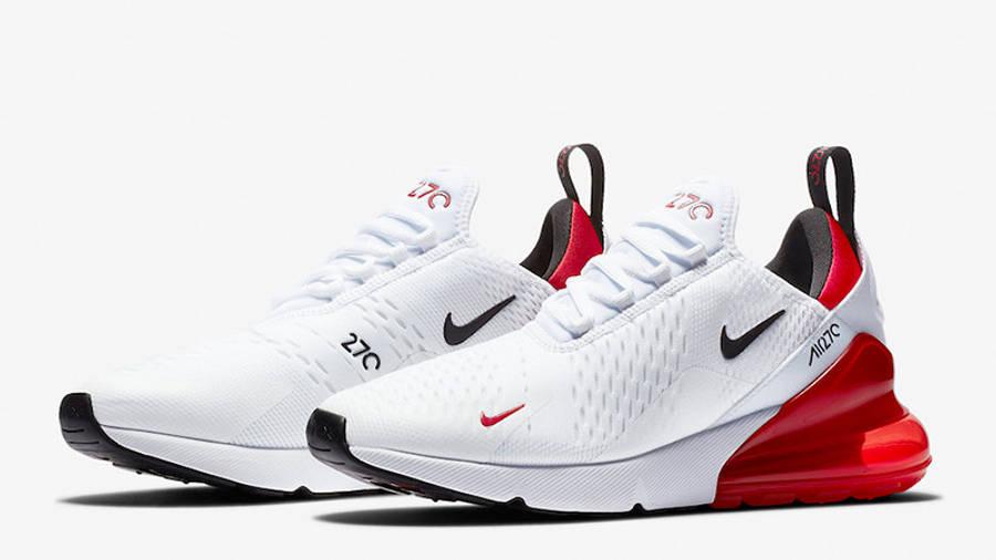 Nike Air Max 270 White Red | Where To