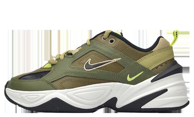 Nike M2K Tekno Olive Womens AO3108-201