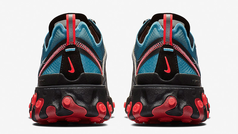 Nike React Element 87 Grey Blue Red AQ1090-006 01