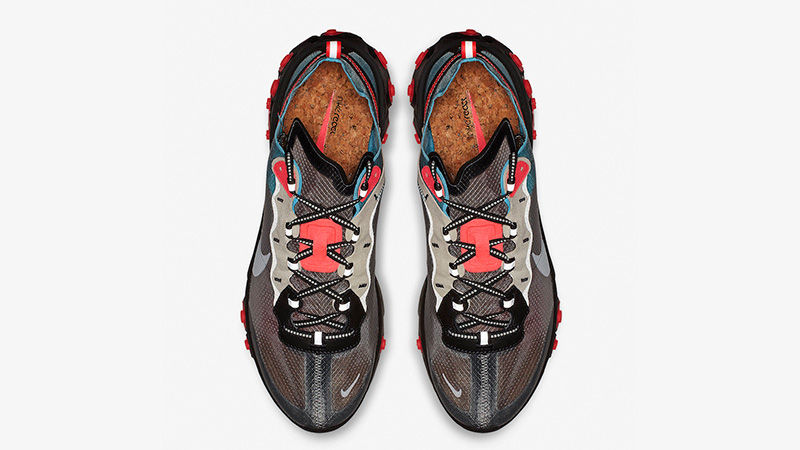 Nike React Element 87 Grey Blue Red AQ1090-006 02