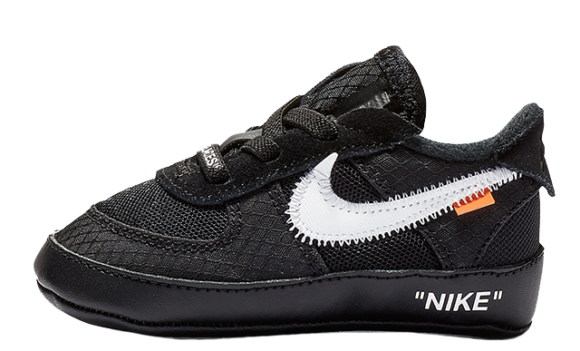 Off-White Nike Air Force 1 Low Black Toddler BV0854-001