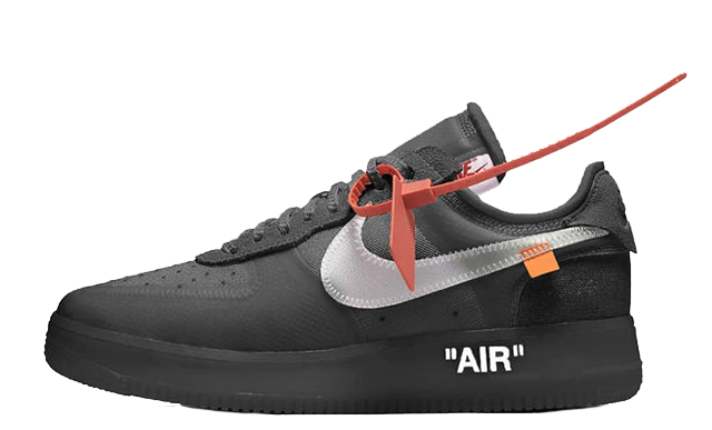 Temporizador sentido Condensar  Off-White x Nike Air Force 1 Black - Where To Buy - AO4606-001 ...
