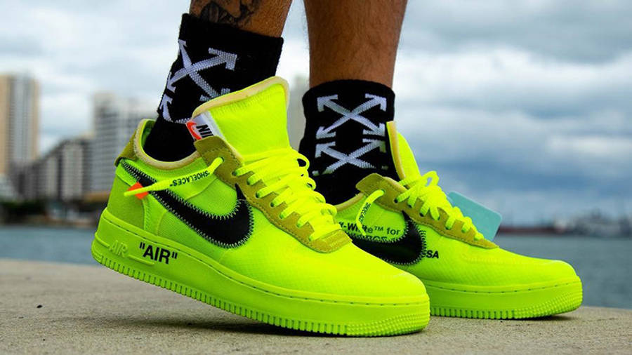 Off-White x Nike Air Force 1 Volt | Where To Buy | AO4606-700 ...